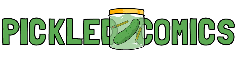 Pickled Comics Logo