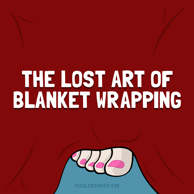 The Lost Art Of Blanket Wrapping