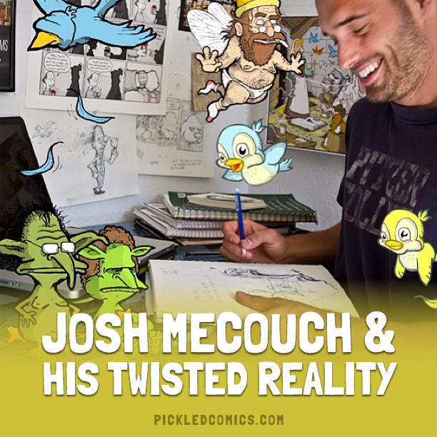 Josh Mechouch And His Twisted Reality