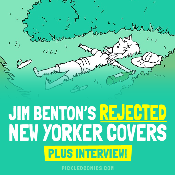 Jim Benton's Rejected New Yorker Covers