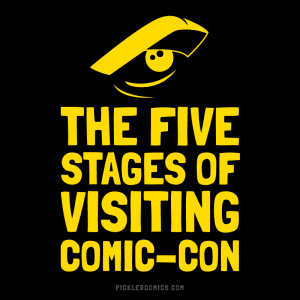 The Five Stages Of Visiting Comic-Con