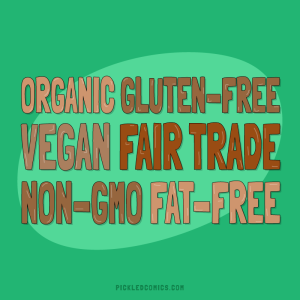 Organic Gluten-Free Vegan Fair Trade Non-Gmo Fat-free