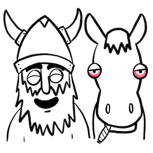 Vikings commonly used cannabis oil to calm their war horses before sailing into a battlefield.